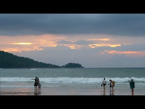 Patong Beach in the Rainy Season, Phuket 2016