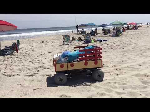Custom robot beach wagon design and build