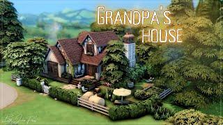 Домик дедушки👨🌾│Строительство│Grandpa's House│SpeedBuild│NO CC [The Sims 4]