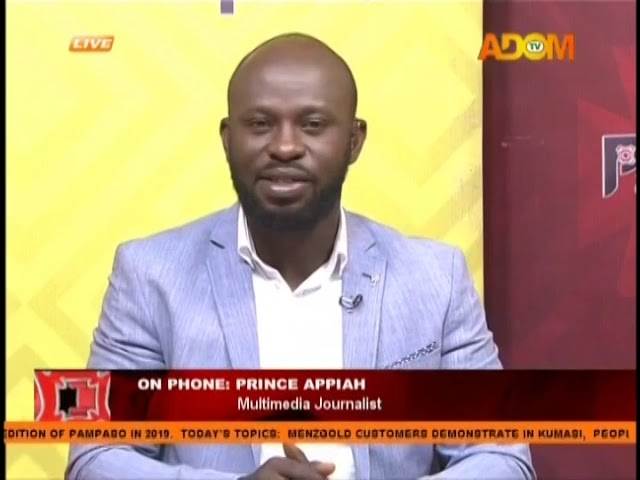 Mengold Customers Demonstrate In Kumasi - Pampaso on Adom TV (8-1-19)