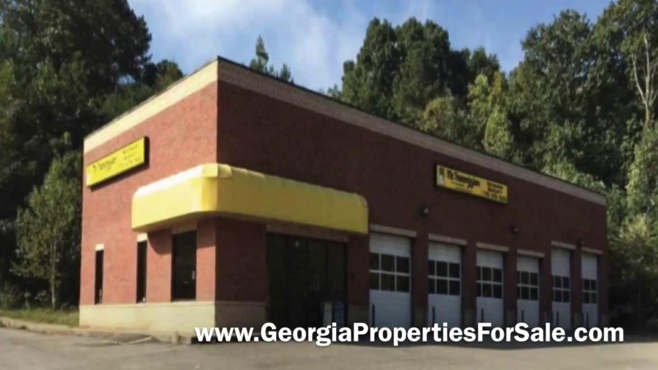 Auto Repair Shop For Rent or Sale in Canton GA