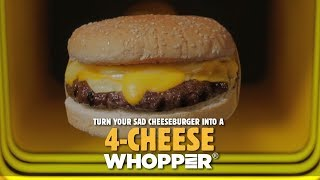 Introducing, the Burger King #4Chee...