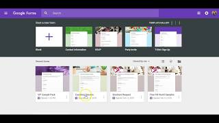 Creating Sample Request Forms Using Google Forms