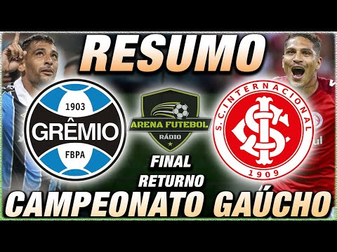 Grêmio x Internacional Ao Vivo l Campeonato Gaúcho l Final do Returno l Narração