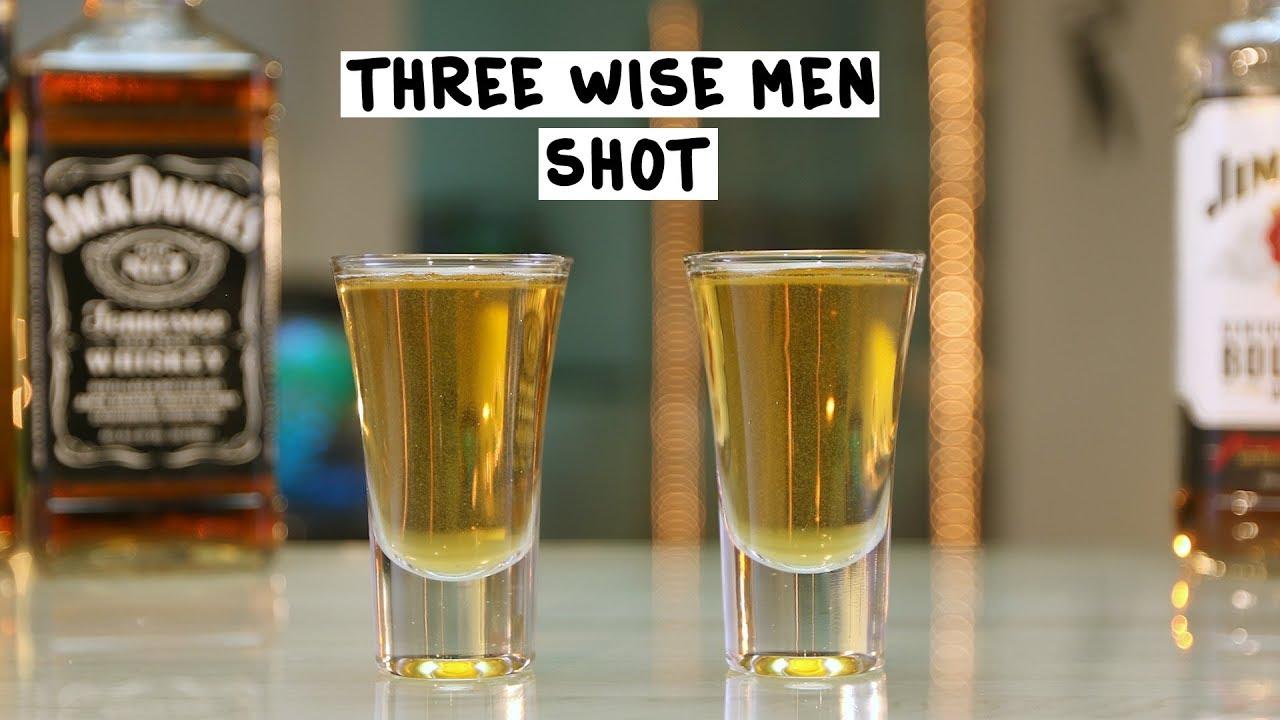 Three Wise Men Shot  Tipsy Bartender