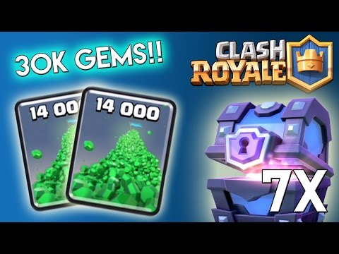 Clash Royale: Chest Opening  Ep 1: 7x...