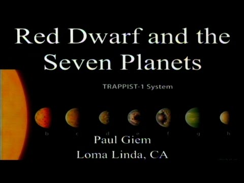 Red Dwarf and the Seven Planets 4-1-2017 by Paul Giem
