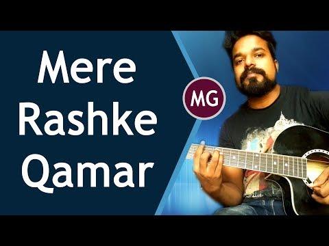 Mere Rashke Qamar || Baadshaho || GUITAR CHORDS LESSON BY Musical Guruji