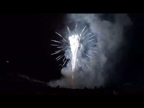 2019 Colorado School Of Mines E-Days Fireworks Show In HD