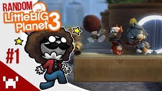 THE SLAPPING GAME - Little Big Planet 3: Random Multiplayer - Ep. 1
