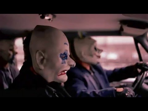 The Dark Knight Bank Robbery Scene