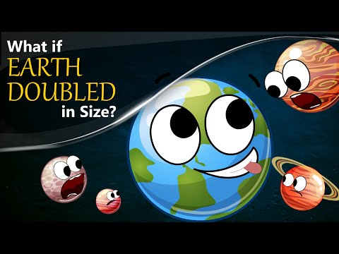 What if Earth Doubled in Size? + more videos | #aumsum #kids #science #education #children
