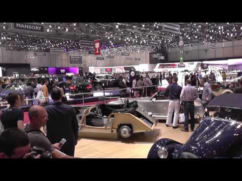 Morgan Sports Car Stand World Premiere Video Movie