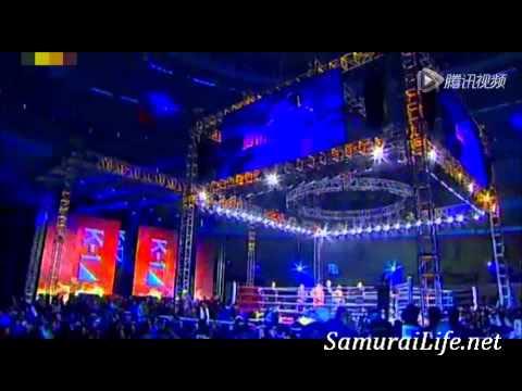 Saenchai vs Kong Hong Xing ~ K 1 World MAX China   Samurai Life TV Muay Thai