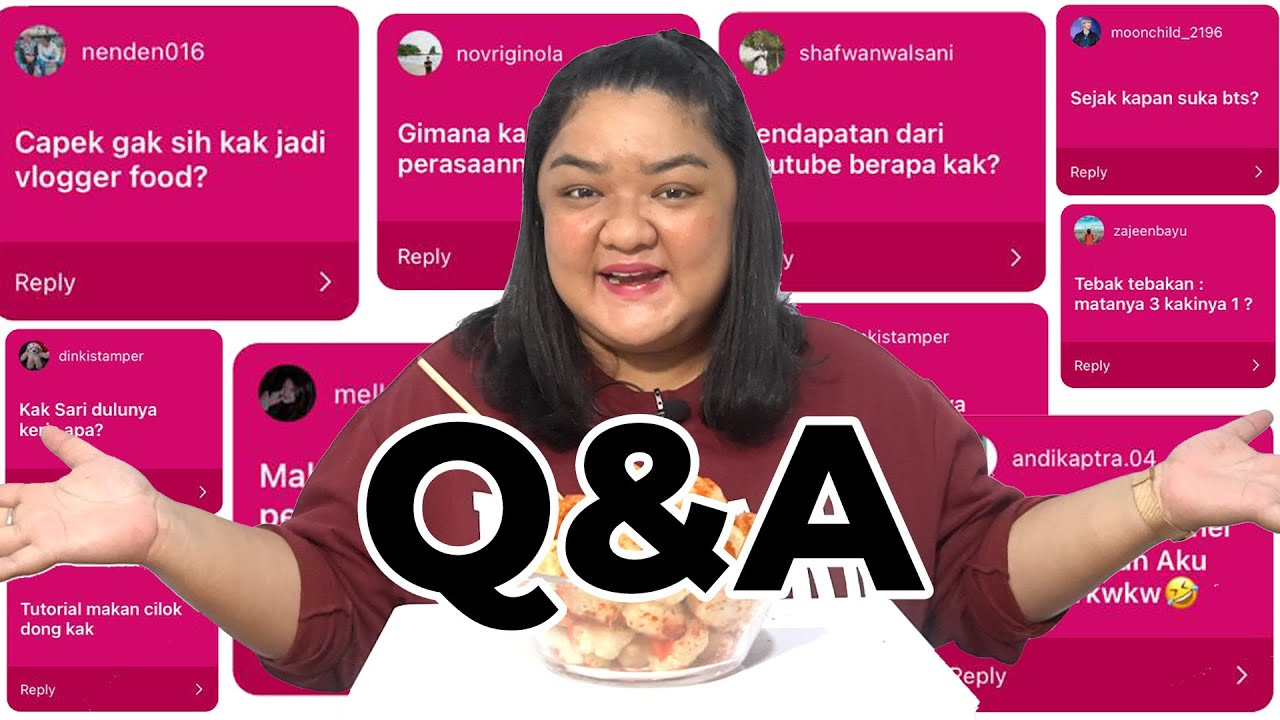 Q&A | GIVE AWAY | PENGHASILAN YOUTUBE SEPARUH AKU LEMAK??