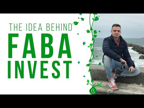"Maksim Beliaev—Idea behind Faba invest. Why does call ""Faba"" 