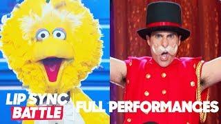 "Jason Schwartzman's ""Just Like Fire"" vs. Big Bird's ""I Gotta Feeling"" | Lip Sync Battle"