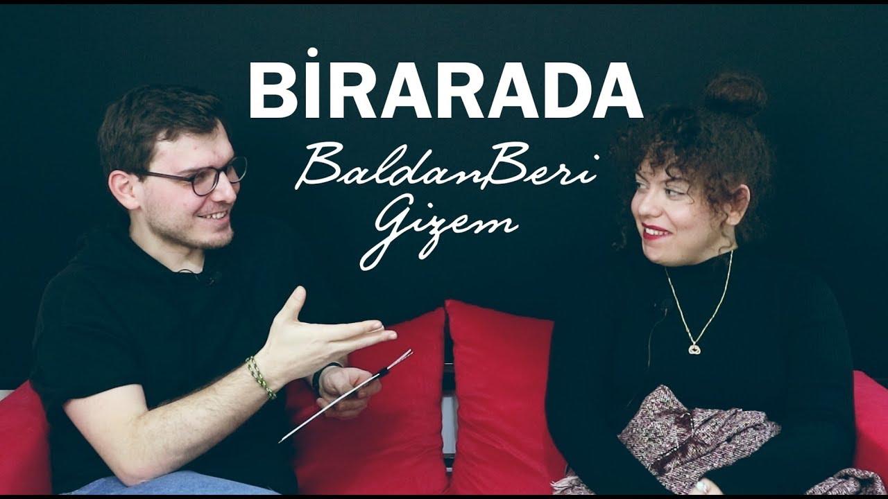 BaldanBeri-Gizem ile Soru/Cevap | YouTube Çöplüğü, Kitaplar,Tavsiyeler,Favoriler | BİRARADA 5. Bölüm