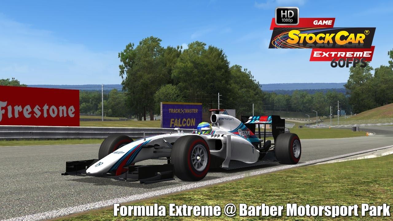 Circuito Barber : Formula extreme barber motorsport park driver s view stock car