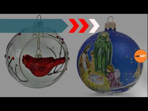 blown glass ornaments religious christmas ornaments