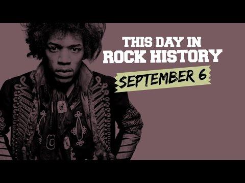 Jimi Hendrix's Last Concert, Judas Priest Ready to 'Rocka Rolla' - September 6 in Rock History