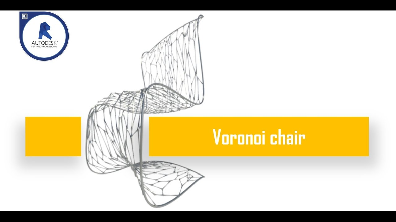 How To Create A Parametric Voronoi Chair With Revit And