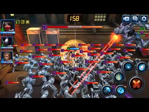 VS Sharon Carter with Ultron 1 shot kill