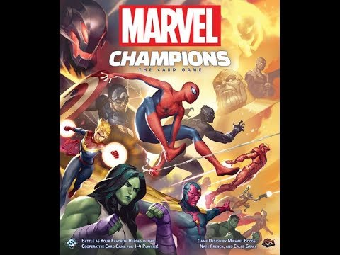 Marvel Champions - Unboxing - El club del dado