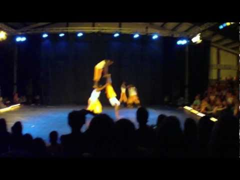 Nafsi Africa Acrobats at Acrobatic Festival 2012 Part 1/3