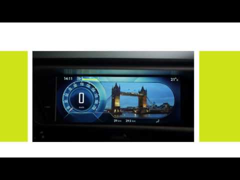 Citroën C4 Picasso  - How does the panoramic screen work?