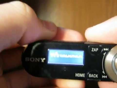 Sony Walkman NWZ-B162F