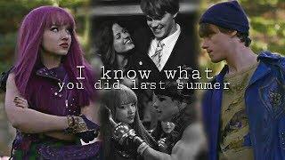 «I know what you did last summer» // Ben & Mal [Disney Descendants]