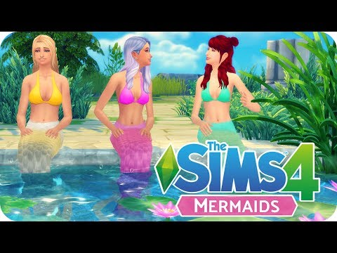 MERMAIDS MOD - SCALES, MERMAID TAILS & SIREN'S SONG | Sims 4 Mod Review