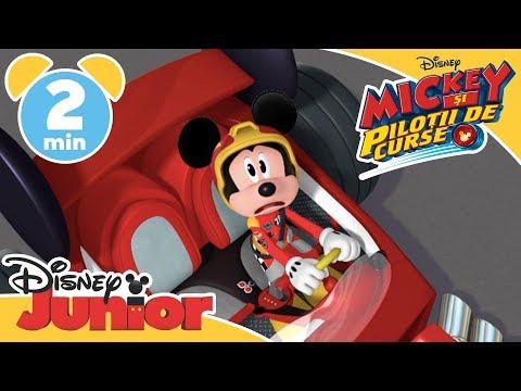 Mickey și Piloții de Curse | Cursa imposibilă | Disney Junior România