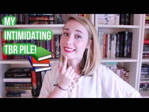 The Most Intimidating Books on My TBR!