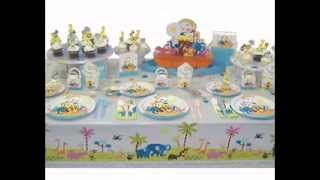 Baby Shower Table Setting Decorations Ideas