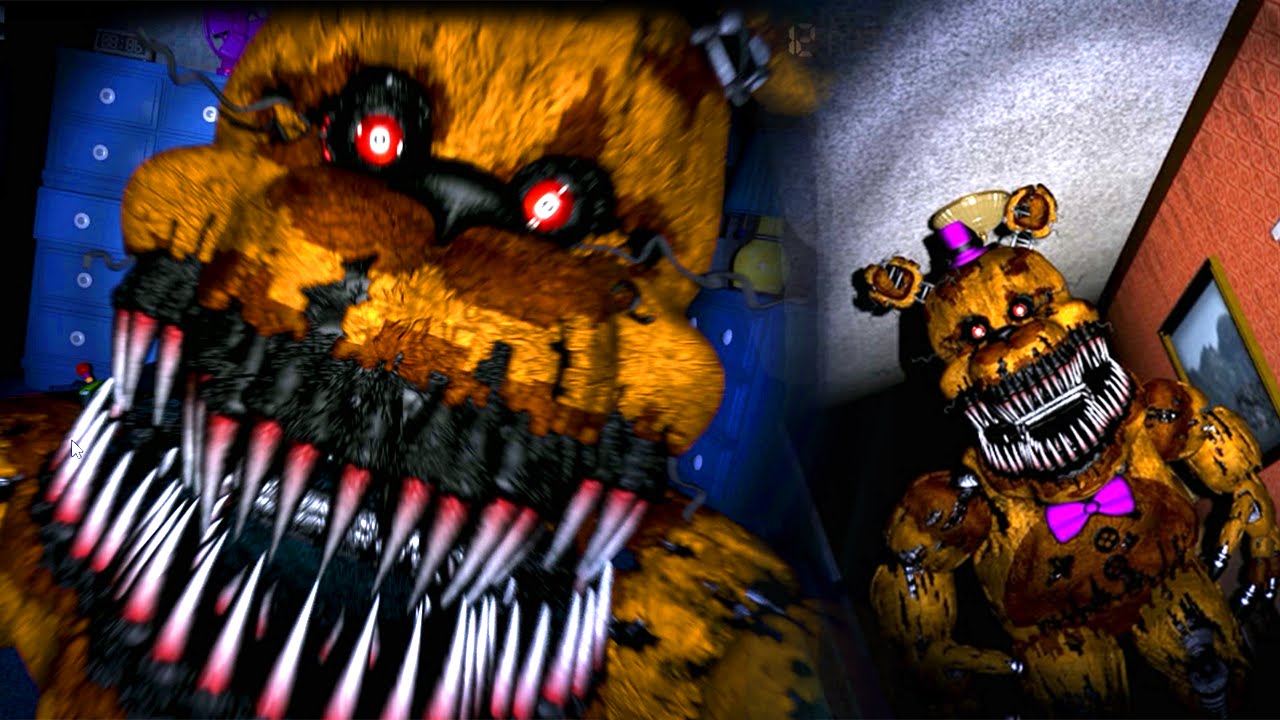 Five Nights At Freddy S 4 4 Fred Bear Is Evil Final