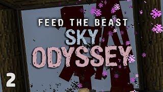 FTB Sky Odyssey Ep. 2 Easy Automated Mob Farm