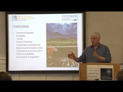Geoengineering -- the problem of competing values in environmental and technological governance