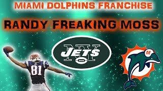 RANDY FREAKING MOSS!! | NFL 2k5 Miami Dolphins Franchise Rebuild | Episode 5 (S1,G4) vs Jets