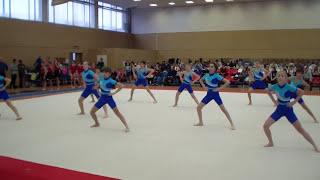 Гимнастика в школе. Вольные упражнения.