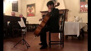 The Poet- for Cello solo- Schachar Regev