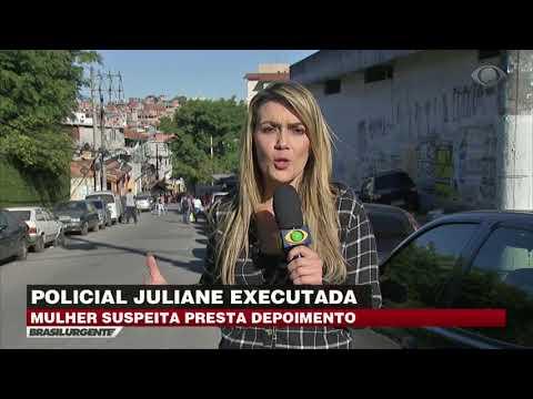 Caso Juliane: Mulher suspeita presta depoimento