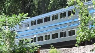 Long Island Railroad crossing Frost Mill Rd
