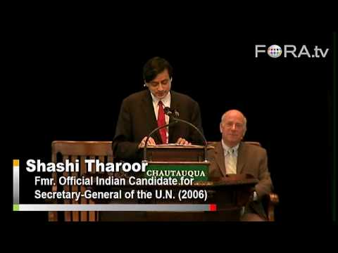 Barack Obama and the American Global Image - Shashi Tharoor
