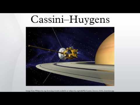 Cassini–Huygens