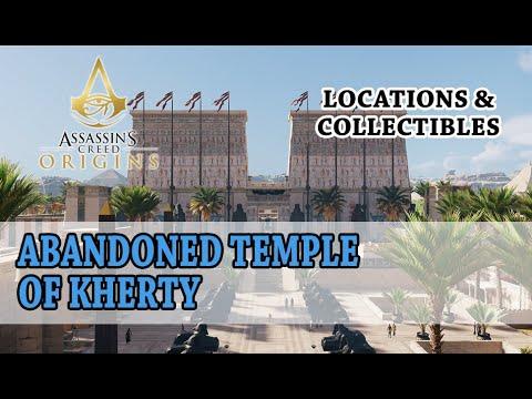 Assassin's Creed Origins - Opustený Chrám Cherty / Abandoned Temple Of Kherty