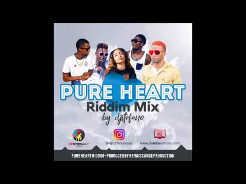 Pure Heart Riddim Mix - August 2017 by DjStefanoMusic.com