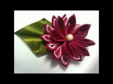 Handmade Satin Flowers - 1 | MyInDulzens