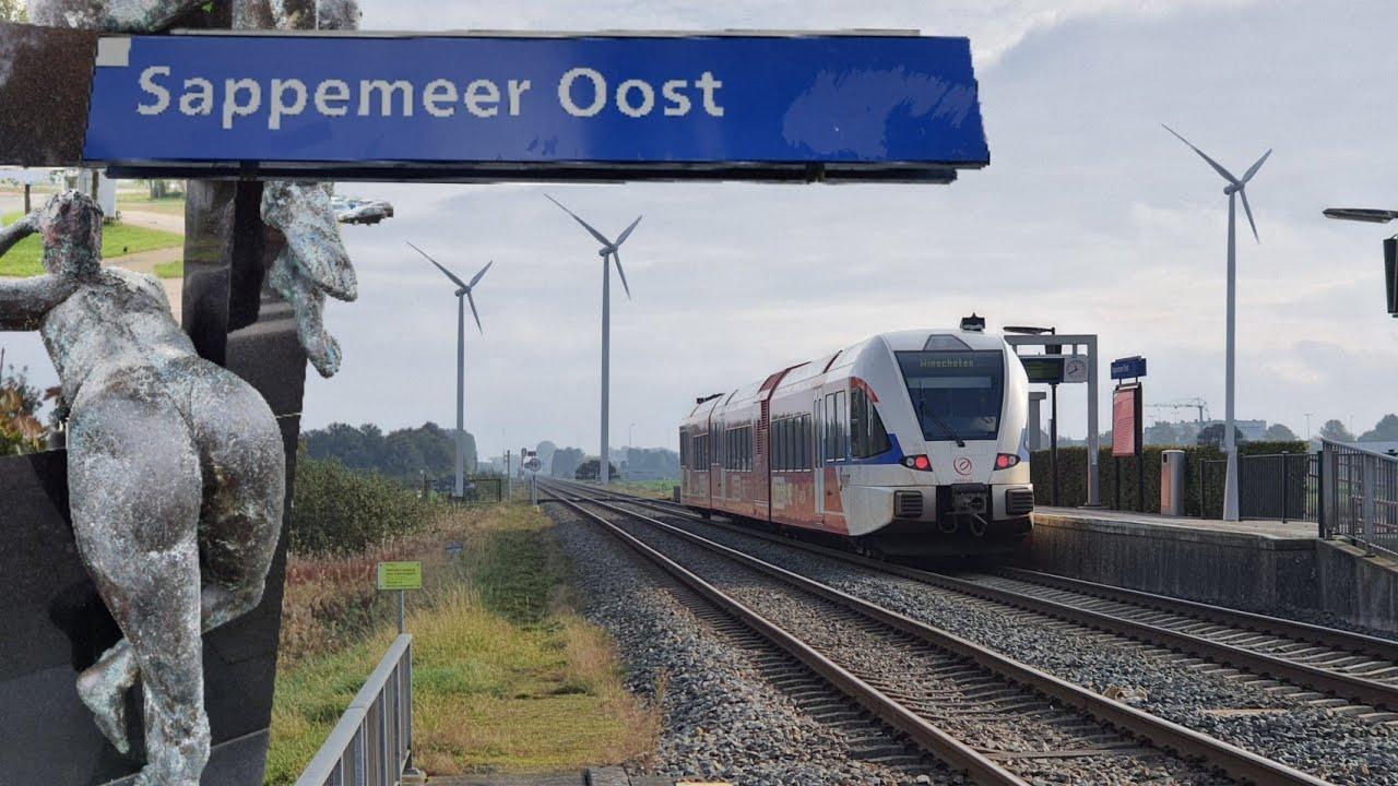 Station SAPPEMEER OOST sluit binnenkort! | #treinleven